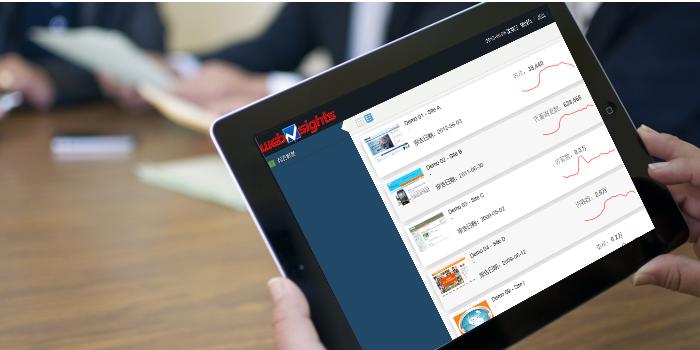 融海咨询发布网站高性能访问分析产品Websights